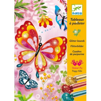Tableaux à pailleter : Papillons