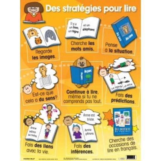 Affiche : Des stratégies pour Lire