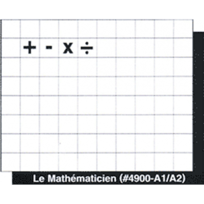 Plastiportable : Mathématicien