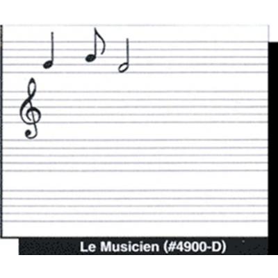 Plastiportable : Portée musicale