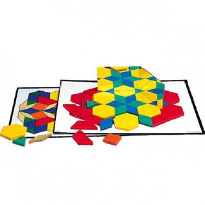 36 activités mosaïque (pattern block)