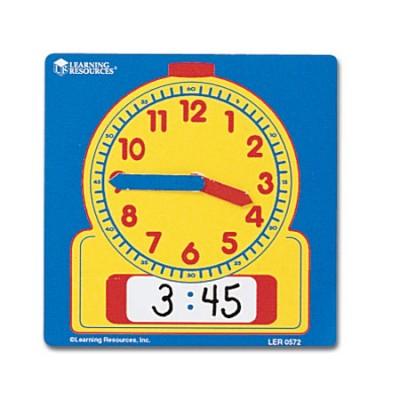 Horloge de démonstration effaçable 12cm