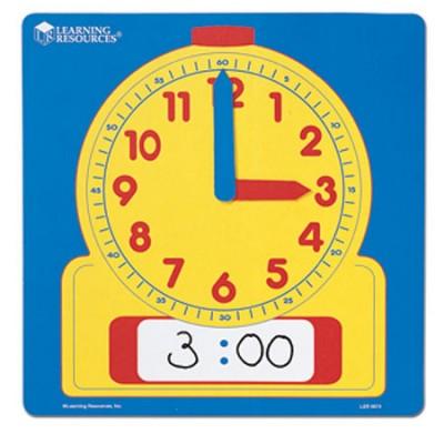 Horloge de démonstration effaçable