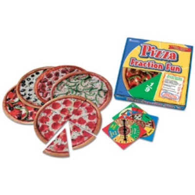 "Jeu de fraction ""pizza party"""