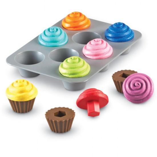 Cupcakes tri de formes 17 mcx