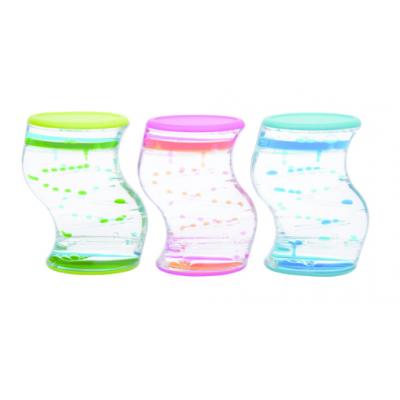 Sablier d'Eau : Liquide Bicolore /1