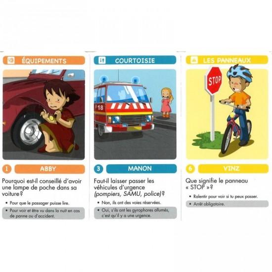 7 familles: Secoury et la sécurité routière