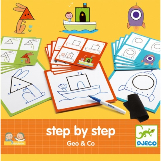 Eduludo: step by step (Geo et co)